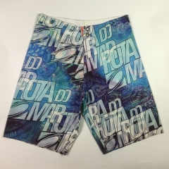 blue surf shorts
