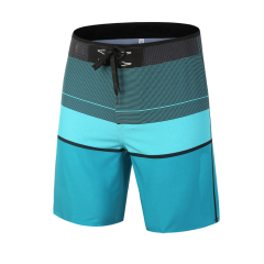 Heat-Seal Men's Water Resistant Performance Block Party 19 Swim Short Boardshort